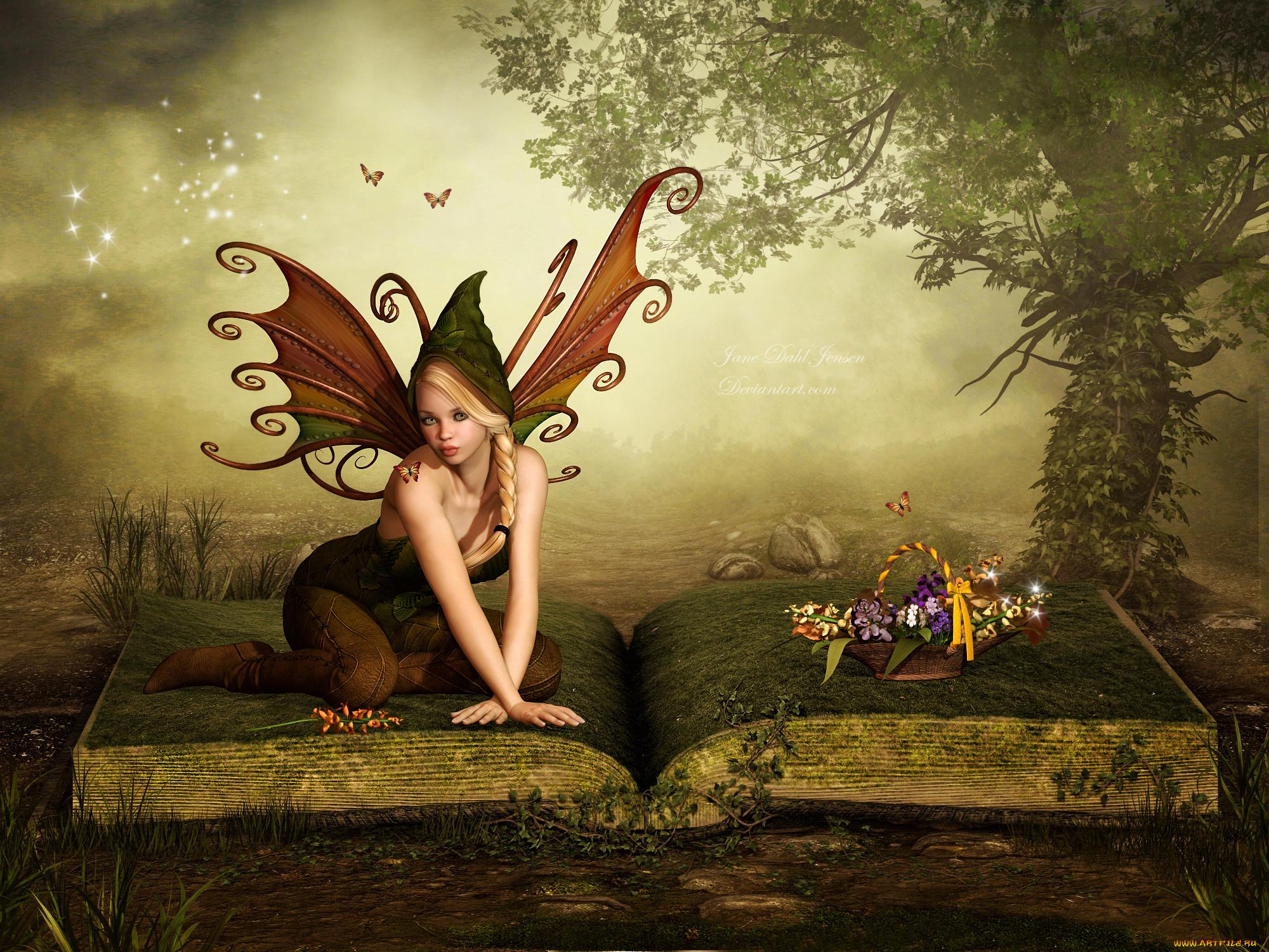 трюфели редкие картинки с феями и эльфами свое
